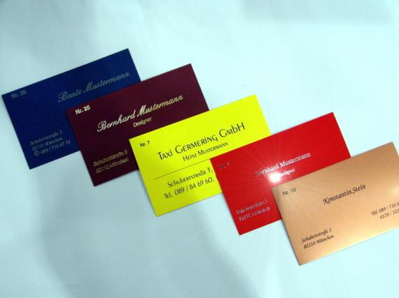 Expresspoint Visitenkarten Adressaufkleber